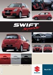 FICHA SWIFT SPORT 195x275 - Suzuki