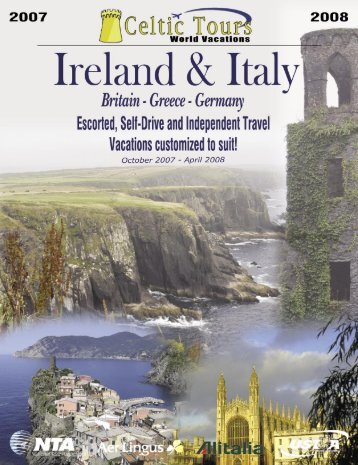 Your Itinerary - Celtic Tours