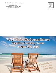 wcdda's annual summer meeting august 6-8, 2010 - West Coast ...