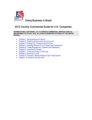 2012 Country Commercial Guide for US Companies - Department of ...