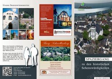 Burg Schnellenberg - Urlaub in Attendorn
