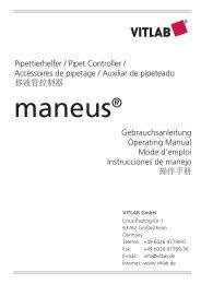 maneus® - Vitlab