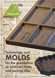 1 2 3 3 4 6 7 - Molds for artificial stone