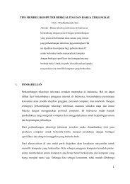 TIPS MEMBELI KOMPUTER BERKUALITAS DAN ... - Kontak UGM