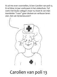 Carolien van poli 13 - Instituut Verbeeten
