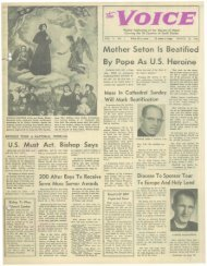 Mother Seton Is Beatified By Pope As U.S. Heroine - E-Research