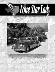 Rolls-Royce Owners' Club •Texas Region ... - Rroctexas.com