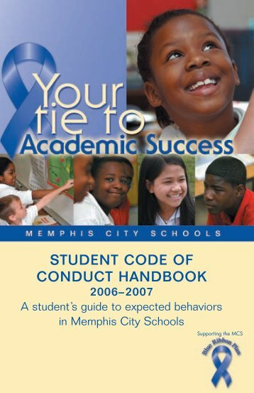 Code of Conduct - Memphis City Schools