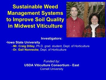 Sustainable Weed Management Systems to Improve Soil Quality in ...