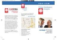 Flyer Caritas Sozialstation Druckvorlage