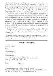 Guy Poitry, Dessalines - Editions d'En bas
