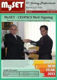January 2013 - malaysian society for engineering and technology