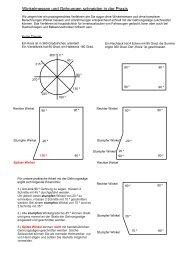 Winkelmessen und Gehrungen schneiden in der ... - 4x4 Innenausbau
