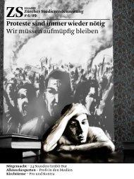 Proteste sind immer wieder nötig Wir müssen ... - Zs-online.ch