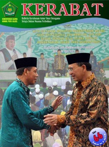 Kerabat Edisi 66 - Kanwil Kemenag Provinsi Kalimantan Selatan