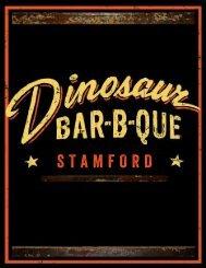 STAMFORD - Dinosaur Bar-B-Que