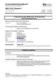 EU-SICHERHEITSDATENBLATT AMYL IFCC ... - diatools AG