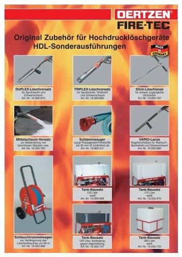 Zubehör als PDF - von Oertzen GmbH