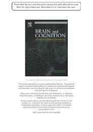 Author's personal copy - Institut des Sciences cognitives - CNRS