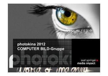 photokina 2012 - Axel Springer MediaPilot