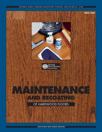 MAINTENANCE - Crescent Hardwood Supply