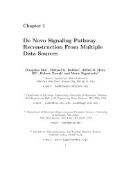 De Novo Signaling Pathway Reconstruction From - Electrical and ...