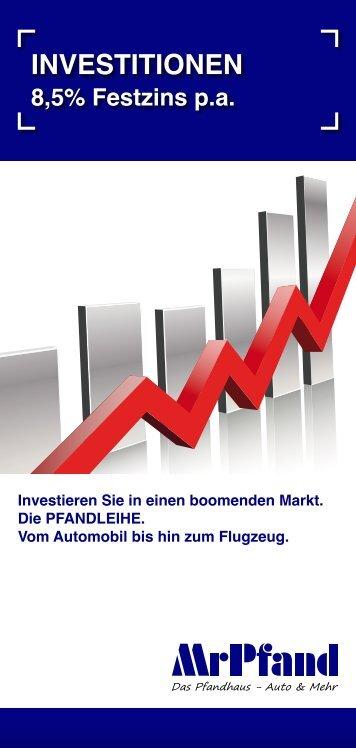 Zur Investorenbroschüre - Mr Pfand