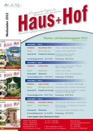 Das regionale Magazin für Bauen, Wohnen & Leben