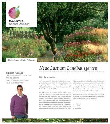 Neue Lust am Landhausgarten - Majuntke oHG