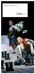 JANUAR / FEBRUAR 2013 - Oper Frankfurt