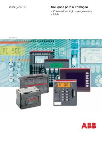 Linha AC500 - APE Distribuidor ABB