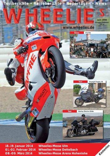 Reisen 2014 - Wheelies