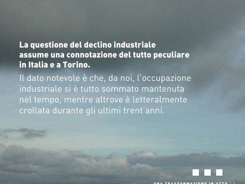 Una trasformazione in atto. - Torino Strategica