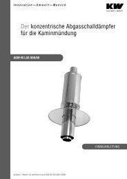 AGM-M LAS 800/80 - Kutzner+Weber