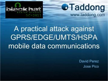 A practical attack against GPRS/EDGE/UMTS/HSPA mobile data ...