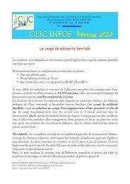 CLIC Infos Fév 2013 - Mairie de Saint-Lyphard