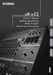 n8/n12 Owner's Manual - zZounds.com