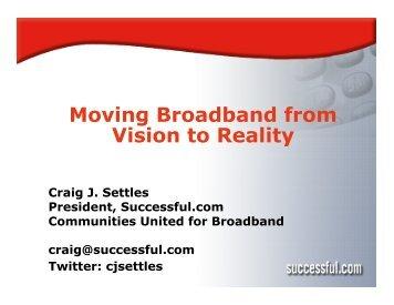 Community Broadband from Idea to Reality