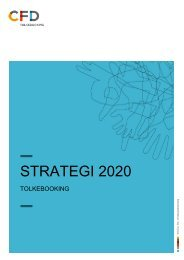 Download tolkeområdets Strategi 2020 som pdf - Center for døve