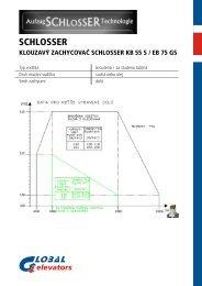 KB 55 S - EB 75 GS cz - GLOBAL elevators sro