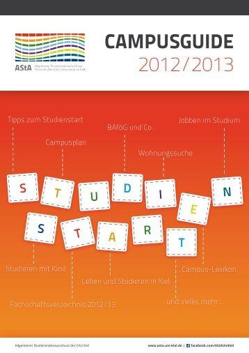 CAMPUSGUIDE 2012/2013 - Christian-Albrechts-Universität zu Kiel