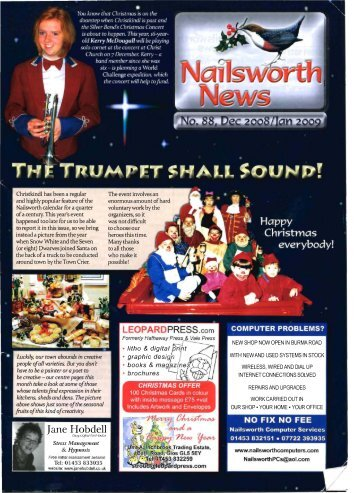 Issue 088 Dec 2008 - Nailsworth News