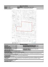 Site Location Details Ref No C30 Site Address Mayfield Road, East ...