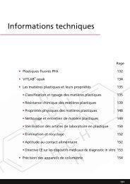 Informations techniques - VITLAB