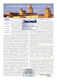 Newsletter n 78 - Ce.Do.S.T.Ar.