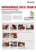 Würth gratuliert zu 11 Medaillen bei den WorldSkills 2013! - Seite 2
