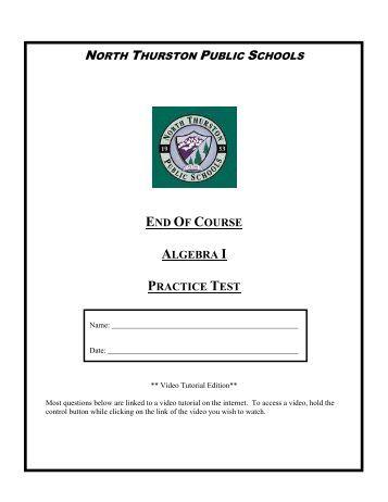 FS Algebra 2 EOC