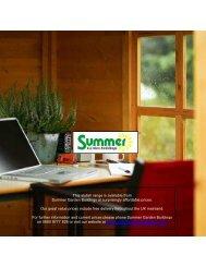 Summerhouses 270-9 brochure 289 - Summer Garden Buildings