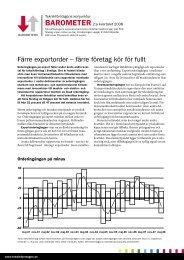 Konjunkturbarometer 2 2008 - Teknikföretagen
