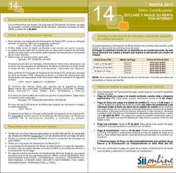 DIP N 14_renta_2010.fh11 - Servicio de Impuestos Internos